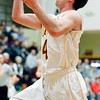 Photo by Chris Martin<br /> Alexandria Guard Layton Carroll shoots a layup against Tipton Tuesday night in the opening round of Sectional Play