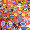 Don Knight / The Herald Bulletin<br /> Trey Edens, 10, has received notes of encouragement and patches from law enforcement agencies from around the globe in response to negative comments posted to Facebook about Edens enthusiasm for law enforcement.