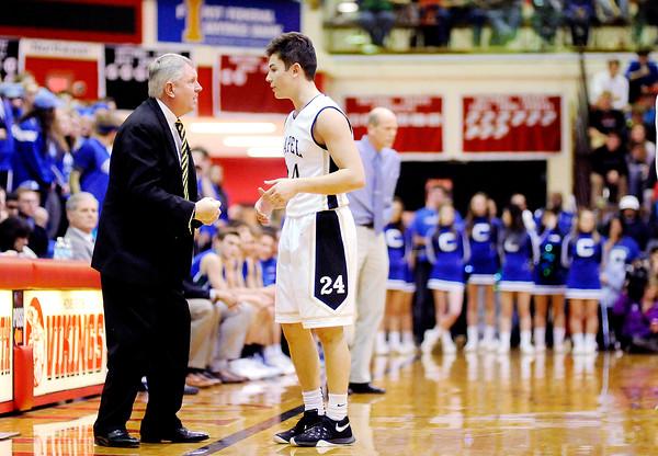 Don Knight | The Herald Bulletin<br /> Semistate at Huntington North High School on Saturday.