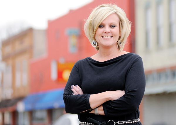 Don Knight | The Herald Bulletin<br /> Yorktown Superintendent Jennifer McCormick is running for Superintendent of Public Instruction.