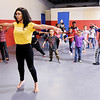 Don Knight | The Herald Bulletin<br /> Kalahni Merritt teaches a dance class during Spring Break Camp at the Boys and Girls Club on Tuesdsay.