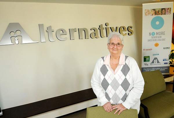 Don Knight | The Herald Bulletin<br /> Mary Jo Lee is retiring from Alternatives.