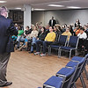 Mark Maynard | for The Herald Bulletin<br /> A number of local citizens were on hand at East Side Church of God on Tuesday evening for the first public discussion of the proposed FIRST facilities improvement plan.