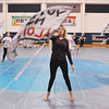 John P. Cleary |  The Herald Bulletin<br /> Anderson High School Winter Guard practices off-campus at Erskine Elementary School. For a AR story on ACS's FIRST facilities improvement program.