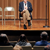 John P. Cleary |  The Herald Bulletin<br /> Indy 500 historian Donald Davidson gives talk about the Indianapolis 500 as part of the speedway's Midwest Engagement Tour that made a stop at the Anderson City Hall Auditorium.