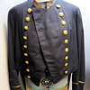 "Don Knight | The Herald Bulletin<br /> A US Navy officers double-breasted swallow-tail coat is part of the Madison County Historical Society's new exhibit ""The Civil War:  Soldiers and Stories of Madison County."""