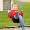 Don Knight | The Herald Bulletin<br /> Parker Lockhart, 4, plays on the playground at Pulaski Park on Monday. The National Weather Service is forecasting rain for Tuesday, Thursday and Friday.