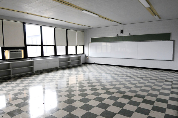 Don Knight | The Herald Bulletin<br /> One of the classrooms at APA's former location on 25th Street that they are transforming into their Leading Edge Center.