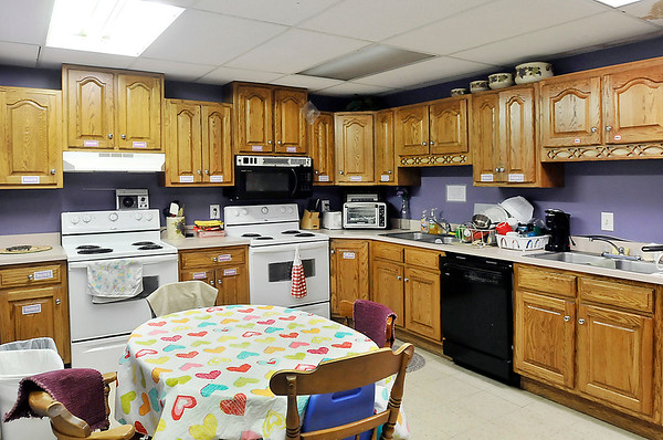 John P. Cleary | The Herald Bulletin<br /> This is the kitchen area on one of the dorm floors for the residents to utilize while staying at Dove Harbor.