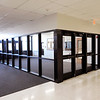 Don Knight |  The Herald Bulletin<br /> This is the new entry way into Alexandria-Monroe Jr.-Sr. High School looking from inside the building. For security reasons the school built this secure entrance to the building ahead of the bond referendum vote this May.