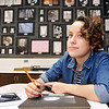 John P. Cleary | The Herald Bulletin<br /> Madison-Grant High School junior art student, Kyleigh Cooper, has won a national art award in the 2018 Scholastic Art & Writing Awards competition.