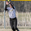 Chris Martin for THB<br /> Taylor Murdock catches a flyball for Lapel against Hamilton Heights at home Friday night.