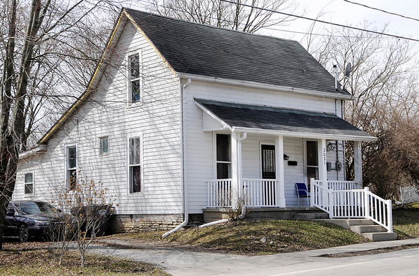 Don Knight | The Herald Bulletin This home in the 2000 block of Ohio is one of 30 owned by JobSource Inc. and included in the upcoming tax sale.
