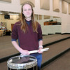 Don Knight | The Herald Bulletin<br /> Lapel High School drummer Gabe Crouse was awarded a gold medal for his performance at ISSMA's state solo and ensemble competition.