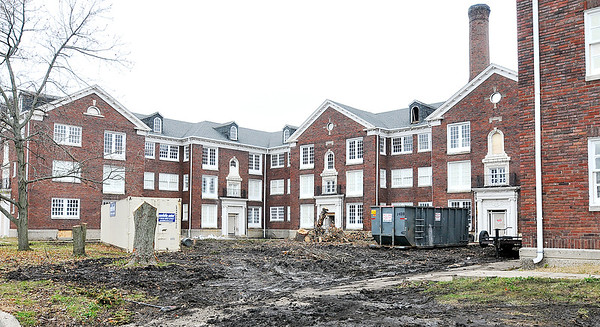 John P. Cleary |  The Herald Bulletin<br /> Delaware Court Apartments.