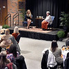 John P. Cleary | The Herald Bulletin<br /> The annual International Women's Day dinner was held at Anderson University in Reardon Auditorium Monday evening with former Indianapolis Colts cheerleader Jill Eicher as guest speaker.