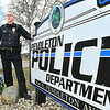 John P. Cleary | The Herald Bulletin<br /> Acting Police Chief, Capt. Randy Sidwell, of the Pendleton Police Department, says that the town has had an ordinance on the books for several years regarding peddlers.