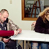 Mark Maynard | for The Herald Bulletin<br /> Couples Desiree Blackwell and Clifford Lee, and Nikki and Ronnie Gullion are participants in the Strengthening Families Program presented by the Jane Pauley Community Health Center Department of Behavioral Health.