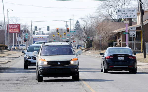 Don Knight | The Herald Bulletin<br /> INDOT will be paving Indiana 32 from Raible to Scatterfield at an estimated cost of $2.6 million.