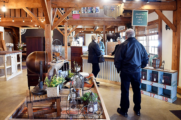 John P. Cleary | The Herald Bulletin<br /> Three Rusty Nails Shoppe at 3820 Martin Luther King Blvd. is moving all of its retail sales to a new location in Noblesville. The building will become an event center.