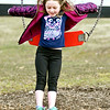 John P. Cleary | The Herald Bulletin<br /> Jentry Mahoney, 6, takes a leap out of the swing as she plays at the Falls Park playground in Pendleton Monday afternoon. Jentry is from Bowling Green, Missouri and is here visiting family while on spring break.