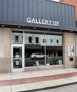 Gallery 119 on State Street in downtown Pendleton.