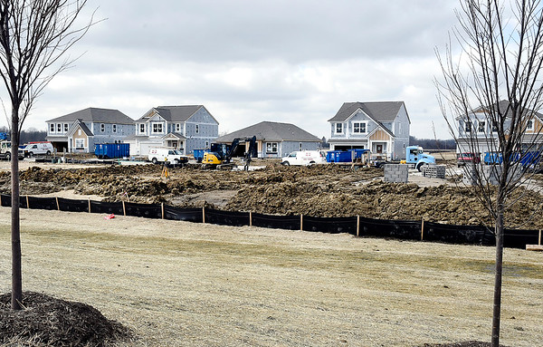 Springbrook housing addition being build on SR 13 between County Road 800 and 900 South in Ingalls.