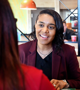 Krystal Ardayfio, workforce development consultant for Ivy Tech's Anderson campus, works as a liaison between Ivy Tech and the business community.