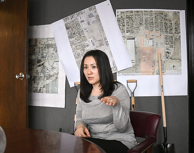 Ayako Girt, of the Anderson Economic Development office, speaks fluent Japanese and is the point person when the city is dealing with Japanese companies.