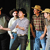 "Zachary Ryan Allen as Will Parker gets locals to dance in the musical ""Oklahoma!"" The production runs this weekend and next at Anderson's Mainstage Theatre, 124 W. Ninth Street."