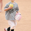 Abigail Sylvia fields the ball as Champions baseball plays at Pendleton Heights' Legends Field on Saturday.