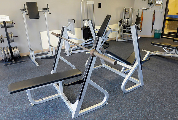 New free weights are part of the upgrades at the Elwood YMCA. The YMCA held an open house on Tuesday to show the public their renovated facilities and new equipment.