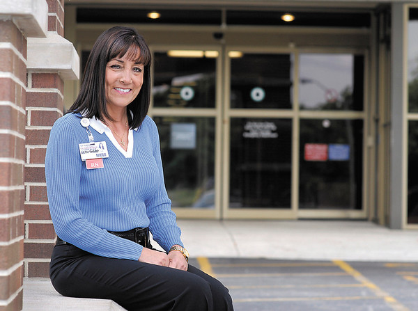 Beth Tharp, a RN at Community Hospital, was named Nurse of the Year.