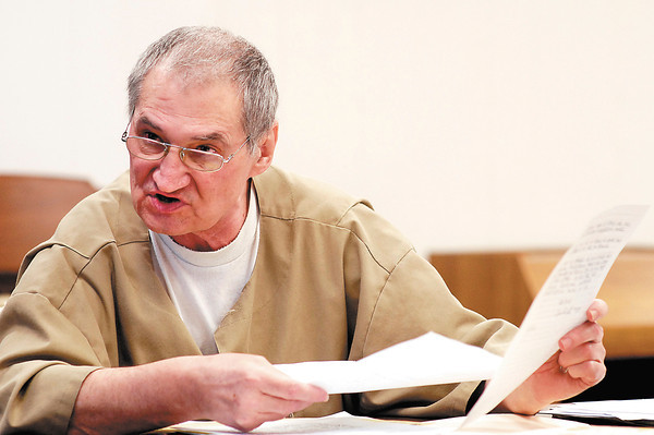 Donald Lock, serving a life sentence at the Pendleton Correctional Facility for murder, alleges he is being discriminated against because he is handicapped.