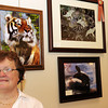 Marian Betts' photographs are on display at the Madison County Visitors and Convention Bureau.