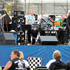 The Ohio Express performs their hits in the infield of Anderson Speedway Friday evening.