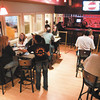 Patrons enjoy the bar area at Amazing Joe's Grill, 909 N. Wheeling Ave., Muncie. Restaurant seating is on two floors.