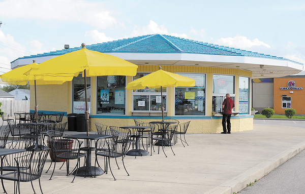 TJ's Ice Cream Plus located on Broadway in Anderson.