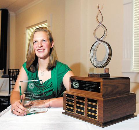 Red Haven Award winner, Abbigail Haffner of Pendleton Heights High School.