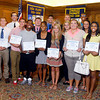 John P. Cleary | The Herald Bulletin<br /> The Anderson Rotary Club Sportsmanship Awards winners from Anderson High School.