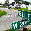 John P. Cleary | The Herald Bulletin<br /> This is the view looking south along the 2000 block of  Nelle Street that has been proposed to change the name to Reese Road in honor of Mack Reese long-term community activist.