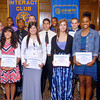 John P. Cleary | The Herald Bulletin<br /> The Anderson Rotary Club Sportsmanship Awards winners from Anderson Preparatory Academy.
