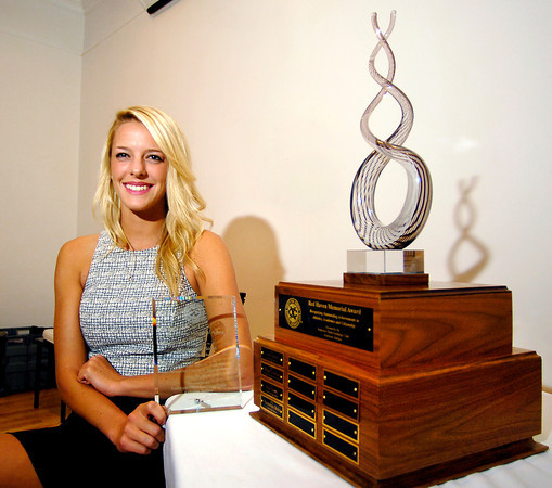 John P. Cleary | The Herald Bulletin<br /> The 2014 Red Haven Memorial Award winner is Mackenzie Boles of Lapel High School.