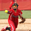 Chris Martin for THB<br /> Frankton's Caitlyn Clark fields a ground ball and flips it to third base Monday in a loss against Madison-Grant Monday
