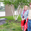 Stu Hirsch | The Herald Bulletin<br /> Eagle Scout candidate DJ Batthauer is helping design and build a memory garden to honor two students and a staff member at Daleville Elementary who died this school year.