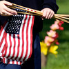 John P. Cleary | The Herald Bulletin<br /> Anderson Preparatory Academy students are spending three days placing American flags on the graves of deceased members of the military in Anderson Memorial Park Cemetery. This year 5,700 flags will be placed on graves.