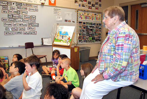 Stu hirsch | The Herald Bulletin<br /> Mara-Le Quarles retires from teaching after 54 years with Frankton-Lapel Community Schools.