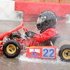 Don Knight | The Herald Bulletin<br /> Grahm Kriser wins the Kid Kart race in the rain during the Mayor's Cup Grand Prix on Saturday. Racing continues downtown today.