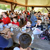 John P. Cleary | The Herald Bulletin<br /> Liberty Christian 2nd graders enjoyed a end-of-year field trip to Mounds State Park Wednesday where they experienced the nature center, a scavenger hunt through the woods, and an outdoor lunch.