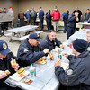 John P. Cleary | for The Herald Bulletin<br /> Employees of the Pendleton Correctional Industrial Facility enjoy a cookout Thursday during activities for their celebration of  National Correction Employees Appreciation Week.